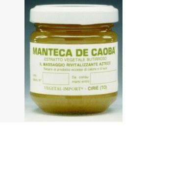 manteca de caoba estratto vegetale burroso