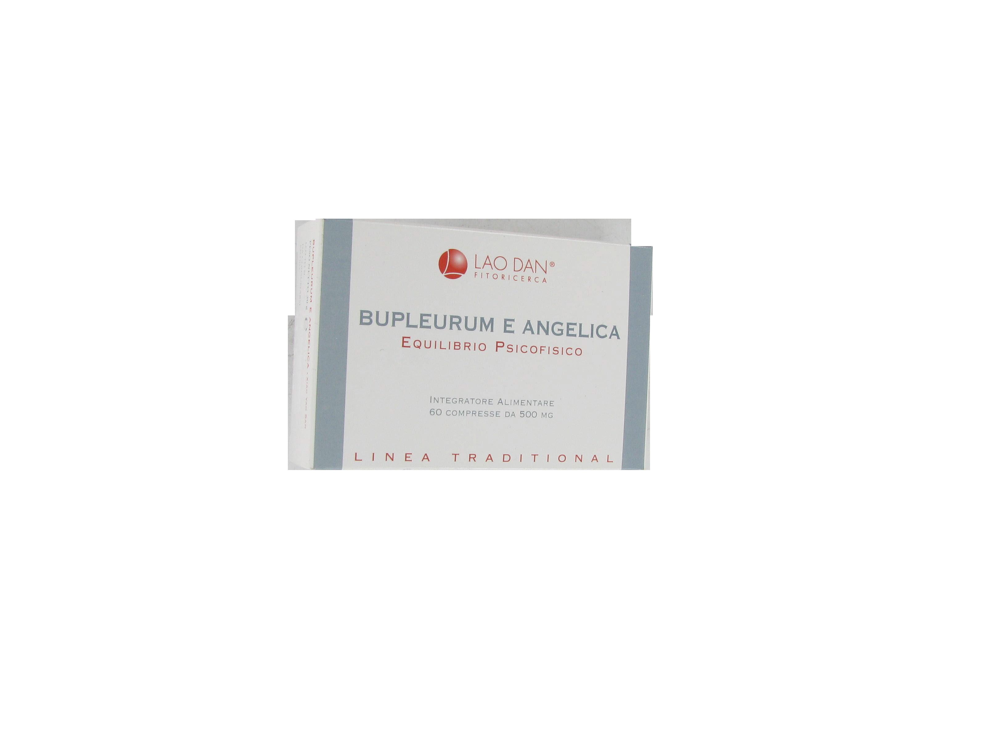 bupleurum e angelica complemento alimentare a base di estratto totale di sostanze vegetali, utile per