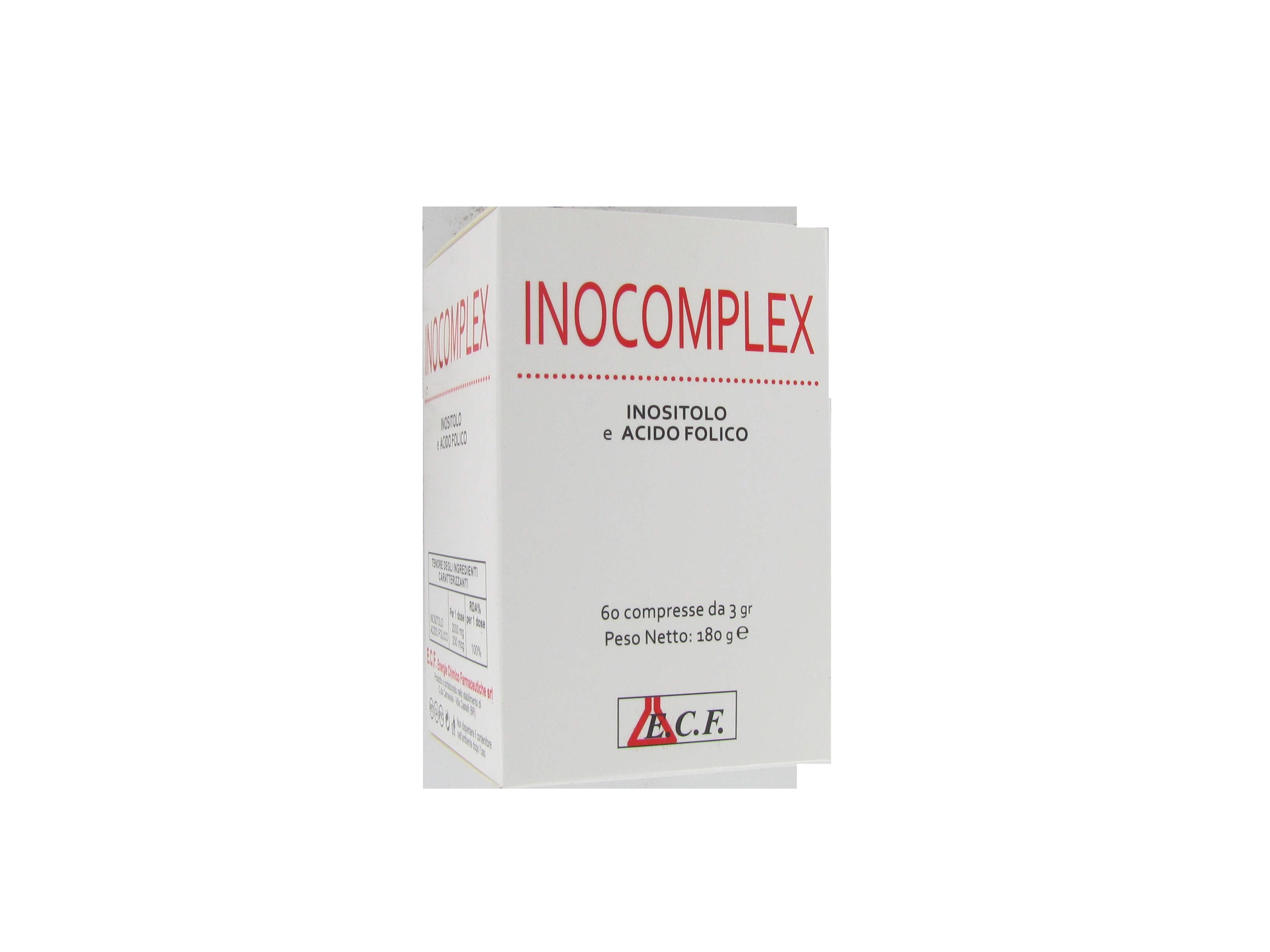 inocomplex integratore alimentare di inositolo ed acido folico, coadiuvante nel trattamento della