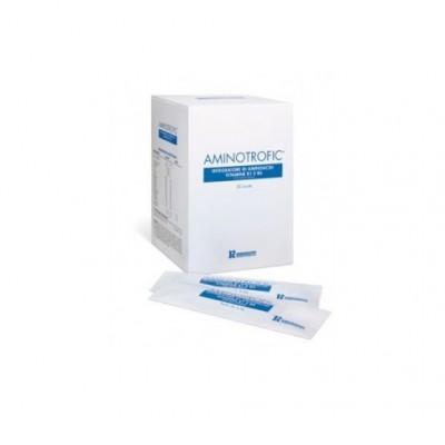 aminotrofic gel 20 buste 12g polvere gelificabile, indicata per il trattamento dietetico di